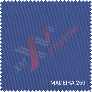 Madeira-260 certified to EN ISO 11611 and EN ISO 11612