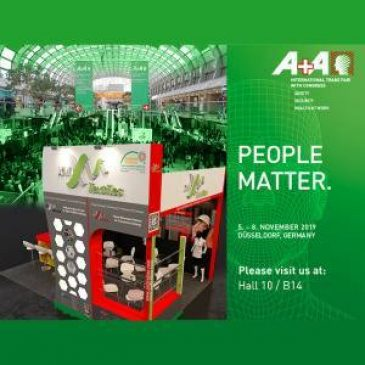 XM Textiles at A+A 2019 | 05-08 November | Our stand B14, Hall 10